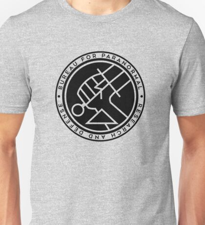 BPRD black icon Unisex T-Shirt