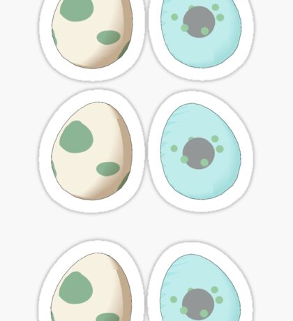 Poke Eggs Sticker