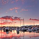 Raby Bay Harbour - Cleveland  Qld Australia by Beth  Wode