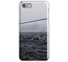 water on a wire at majorca iPhone Case/Skin