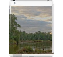 Stormy river scene iPad Case/Skin