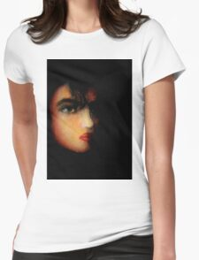 Am I alone....? Womens Fitted T-Shirt