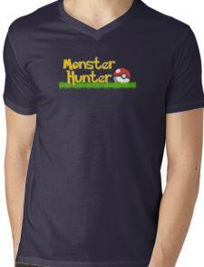Monster Hunter Mens V-Neck T-Shirt