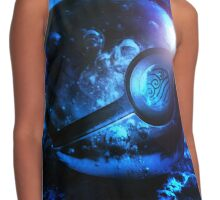 pokeball airbender mix Contrast Tank