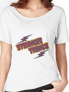 Stranger Things Retro Women's Relaxed Fit T-Shirt