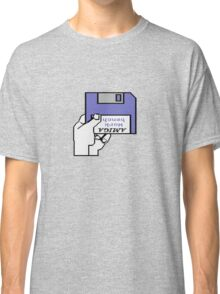 Insert Workbench disk Classic T-Shirt