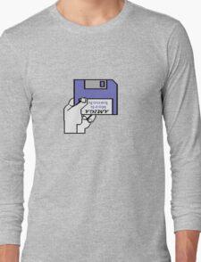 Insert Workbench disk Long Sleeve T-Shirt
