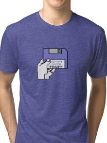 Insert Workbench disk Tri-blend T-Shirt