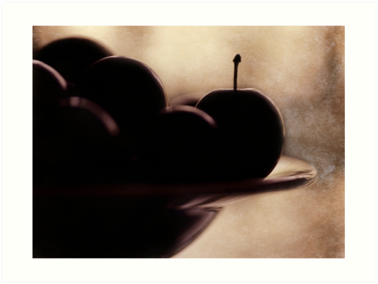 plums by Ingrid Beddoes