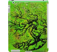 Old and Ancient Tree - Leaf Green by Heather Holland iPad Case/Skin