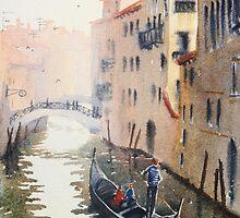 Gondola, Venice Italy by Chrysovalantou