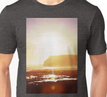 Coastal sunset in watercolor Unisex T-Shirt