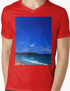 BONDI BEACH Mens V-Neck T-Shirt