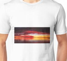 Red sky at Night - Wellington Point Qld Australia Unisex T-Shirt