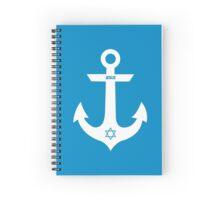 Christian Anchor Spiral Notebook
