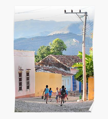 School's out in Cuba Poster