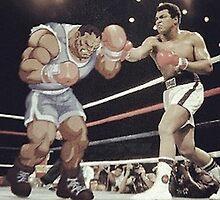 Muhammad Ali by evanda