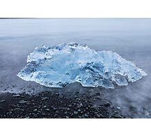 Jokulsarlon glacier lagoon,iceland Photographic Print