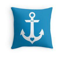 Christian Anchor Throw Pillow