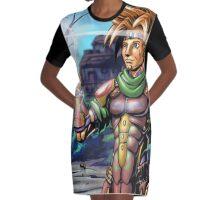 Lion Ark Graphic T-Shirt Dress