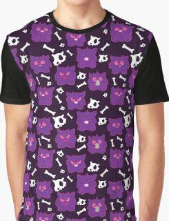 So many gengars - Dark version Graphic T-Shirt