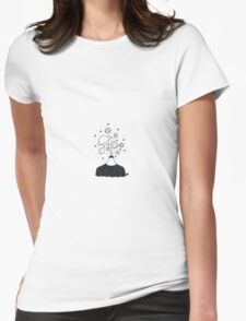 head planets Womens Fitted T-Shirt