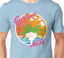 greeting from alola Unisex T-Shirt