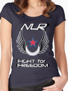 New Lunar Republic Women's Fitted Scoop T-Shirt