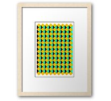 Retro print  Framed Print