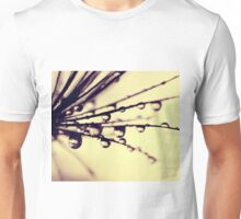 papyrus grass with waterdrops Unisex T-Shirt