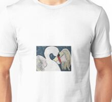 """White Swan"" (acryl on canvas) Unisex T-Shirt"