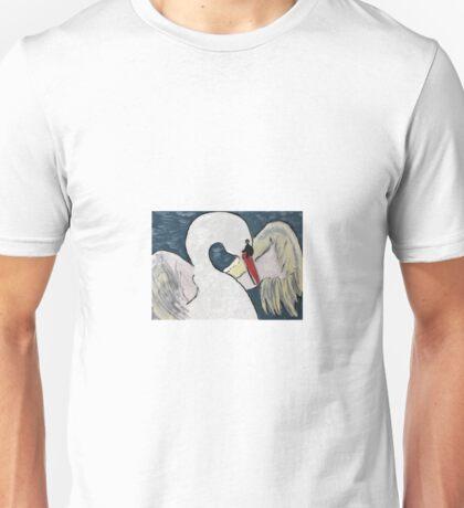 """White Swan"" (acryl on canvas) Unisex T-Shirt"