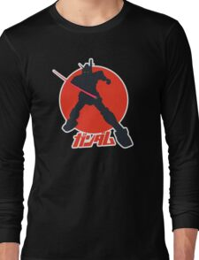Gundam Attack Pose Long Sleeve T-Shirt