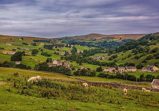 Arkengarthdale Yorks Dales by Trevor Kersley