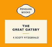 The Great Gatsby - Popular Penguins by paperbackshirts