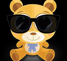 Cool Teddy Bear by Adamzworld