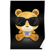 Cool Teddy Bear Poster