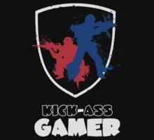 Kick Ass Gamer by pharmacist89