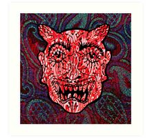 'Handsome Devil Mask #3' Art Print