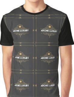 ArchieLuxury Royal & Class Graphic T-Shirt