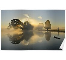 Bushy Park at Sunrise Poster