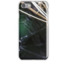 Spider in the Woods iPhone Case/Skin