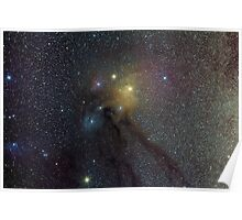 The Star Clouds of Rho Ophiuchi Poster
