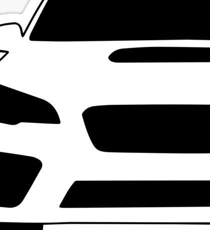 2015+ Subaru WRX STI Full Front with Corner Edge Cut Sticker / Decal Sticker
