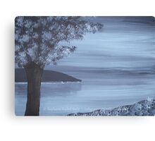 Tranquil Blue Canvas Print