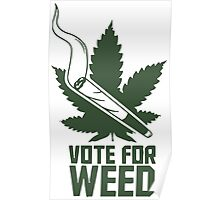 Vote For Weed season dvd Marijuana Cannabis Poster