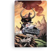 Mamut Kart Canvas Print