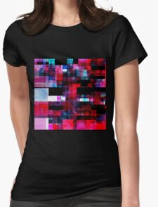 Deep Glitch n.2 Womens Fitted T-Shirt