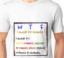 I swear for Animals Unisex T-Shirt