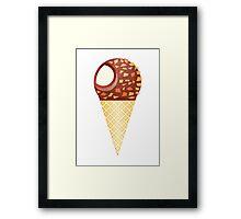 Drumstick Ice Cream Cone Framed Print